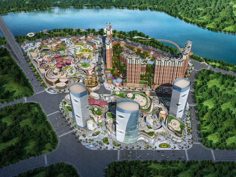 作品展示 >>城市综合体项目 建设地点:湖北省恩施市 设计阶段:方案